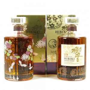 Hibiki 12 & 17 Year Old / Kacho Fugestu Limited Edition 2 x 70cl