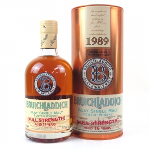 Bruichladdich 1989 Full Strength 16 Year Old