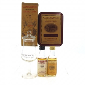 Glenmorangie Miniature Selection and Glass 2 x 5cl