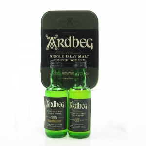 Ardbeg 10 and 17 Year Old Miniature Gift Set