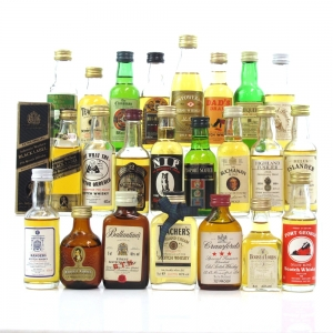 Miscellaneous Whisky Miniature Selection 23 x 5cl
