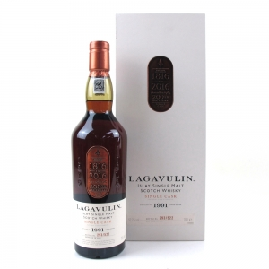 Lagavulin 1991 200th Anniversary 25 Year Old Single Cask