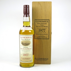Glenmorangie 1977 21 Year Old Front