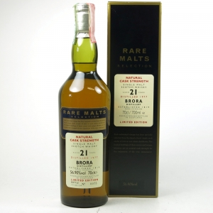Brora 1977 Rare Malt 21 Year Old