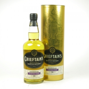 Springbank 1970 Chieftain's 34 Year Old