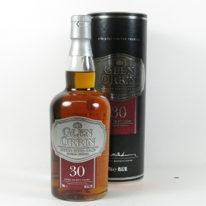 Glen Orrin 30 Year Old Blended Whisky front