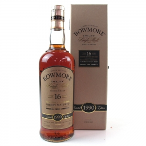 *PICS Bowmore 1990 Sherry Cask 16 Year Old