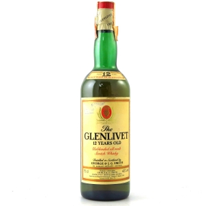 Glenlivet 12 Year Old 1980s / Italian Import