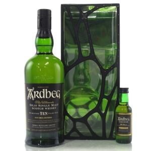 Ardbeg 10 Year Old Gift Pack / Includes Uigedail Miniature 5cl