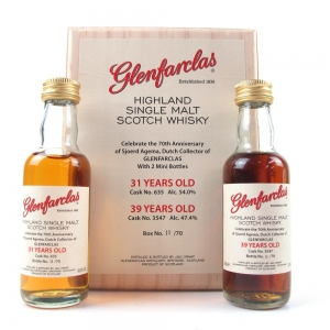 Glenfarclas Miniature Set / 31 Year Old and 39 Year Old / 2 x 5cl