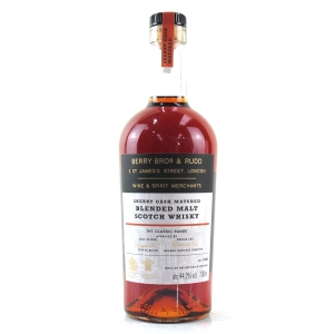 Berry Brothers and Rudd Sherry Cask Blended Malt
