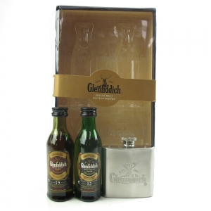 Glenfiddich Miniature Gift Pack Including 15 and 18 Year Old 2 x 5cl