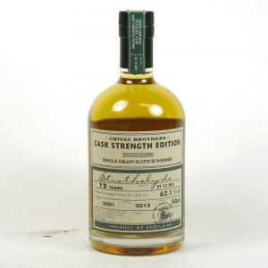 Strathclyde 2001 12 Year Old Cask Strength Batch #001 Front