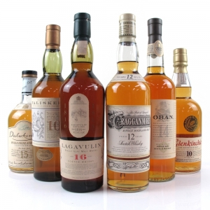 Classic Malt Collection Gift Set / Including Plinth