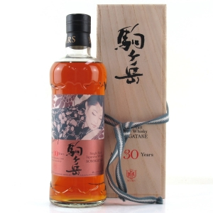 Shinsu Mars Komagatake 1986 Sherry Cask 30 Year Old