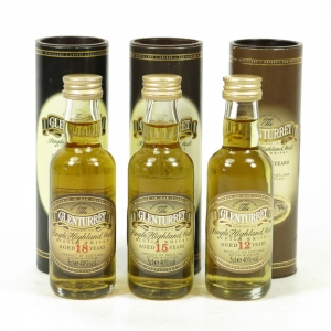 Glenturret 12, 15 and 18 Year Old 3 x 5cl