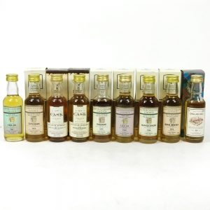 Gordon And Macphail Miniature Collection 9 x 5cl