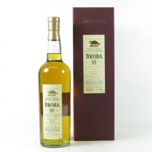 Brora 35 Year Old 2013 Release (US Import) 75cl front