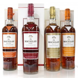 Macallan 1824 Complete Set 4 x 70cl