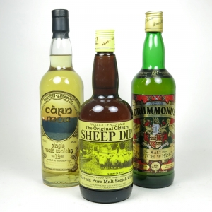 Miscellaneous Whiskies 3 x 70cl