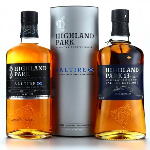 Highland Park David Coulthard Saltire Editions 2 x 70cl