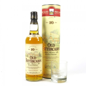 Old Fettercairn 10 Year Old with free glass