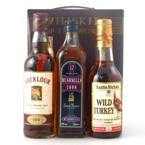 Whiskies of the World Gift Pack 3 x 33.33cl