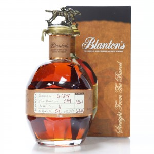 Blanton's Straight from the Barrel Dumped 2018