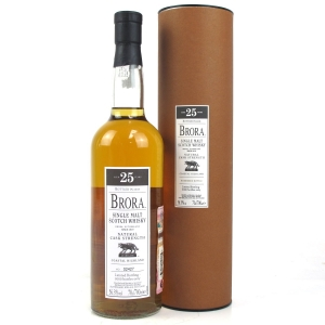 Brora 25 Year Old 2008 Release