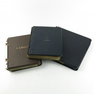 *NEEDS PICS Johnnie Walker Label Collection / 3 Binders