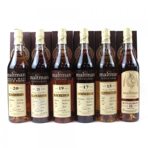 Maltman's Selection 6 x 70cl / Including Springbank 17 Year Old