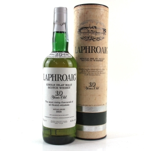 Laphroaig 10 Year Old Pre-Royal Warrant