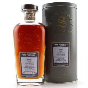 Ledaig 1974 Signatory Vintage Cask Strength 30 Year Old