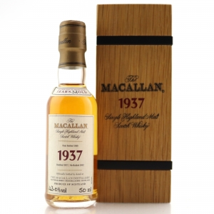 Macallan 1937 Fine and Rare 32 Year Old Miniature 5cl
