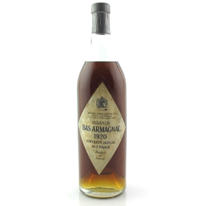Berry Brothers and Rudd 1920 Bas Armagnac