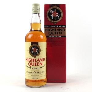 Highland Queen Fine Old Scotch Whisky 1980s