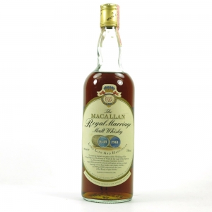 Macallan Royal Marriage 75cl / US Import