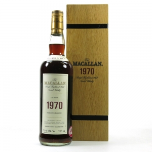 Macallan 1970 Fine and Rare
