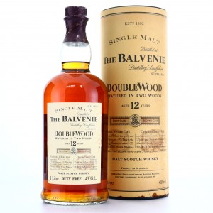 Balvenie 12 Year Old Double Wood 1 Litre