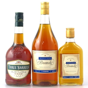 French Brandy Selection 35cl, 70cl and 1 Litre