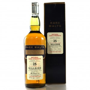 Hillside / Glenesk 1970 Rare Malt 25 Year Old 75cl / 61.1%