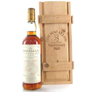 Macallan 1975 Anniversary Malt 25 Year Old