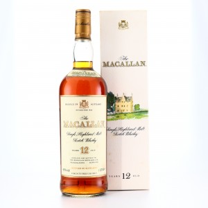 Macallan 12 Year Old 1 Litre 1990s