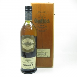 Glenfiddich 1974 Private Vintage Playboy Front