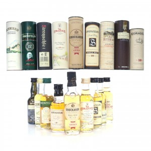 Single Malt Miniature Selection 9 x 5cl / including Springbank 10 Year Old