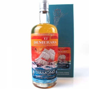 Diamond Distillery 2003 Silver Seal 12 Year Old Demarara Rum