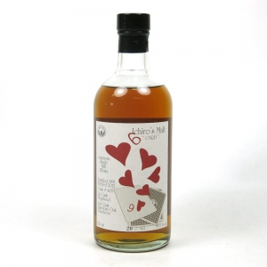 Hanyu 1991 Six of Hearts Single Cask #405 Front