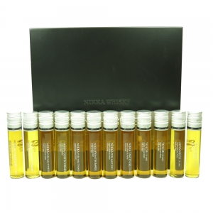 Nikka Whisky Test Tube Gift Pack 12 x 4cl