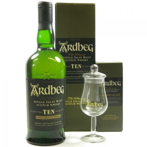 Ardbeg 10 Year Old Including Glass