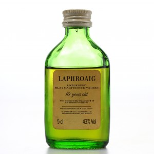 Laphroaig 10 Year Old Miniature 1980s